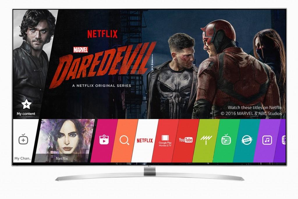 Netflix-Daredevil-on-LG TV