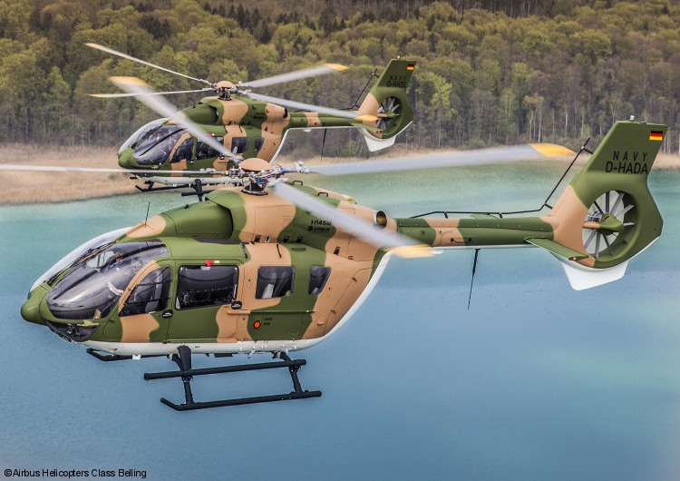 Airbus Hands Over First two H145M Helicopters to Royal Thai Navy