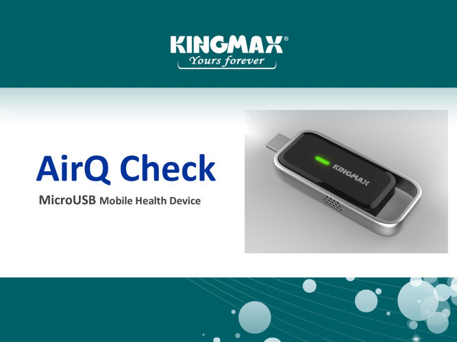 Fight For Right To Breathe Clean Air, Using The Latest AirQ Check Air Quality Mobile Health Device!