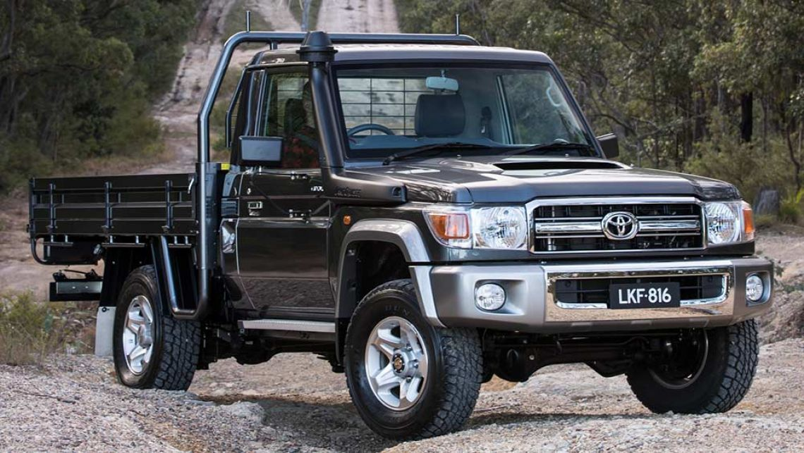 2016 Toyota LandCruiser Single Cab