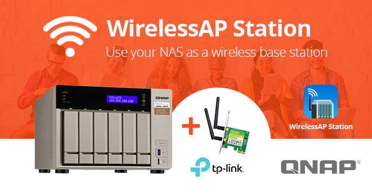QNAP New Wirelessap Station