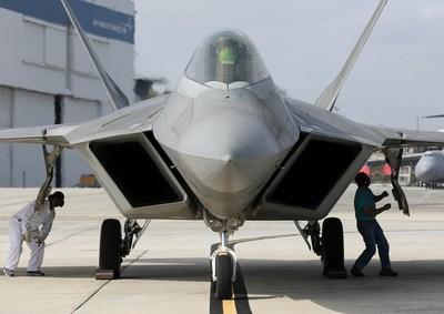 Lockheed Martin Speedline Delivered First F-22 Raptor
