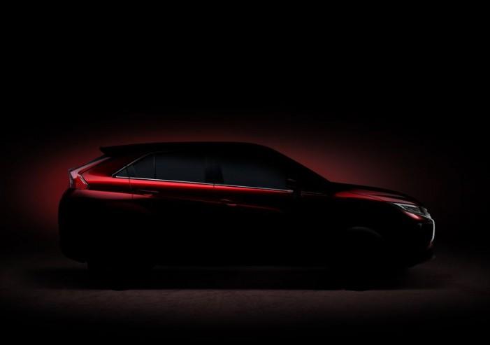 Mitsubishi to debut its new compact SUV at 2017 Geneva Motor Show