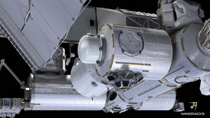 Boeing and NanoRacks Partner to Develop First Airlock Module