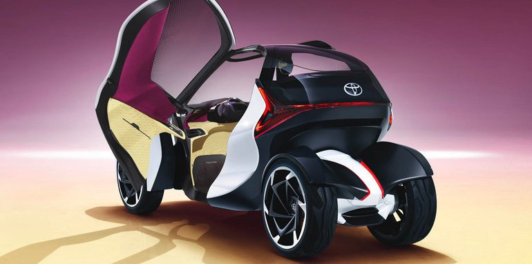The Toyota i-TRIL