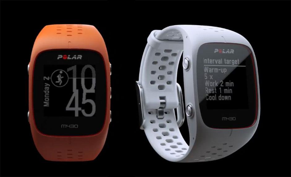 The Polar M430 Running Watch