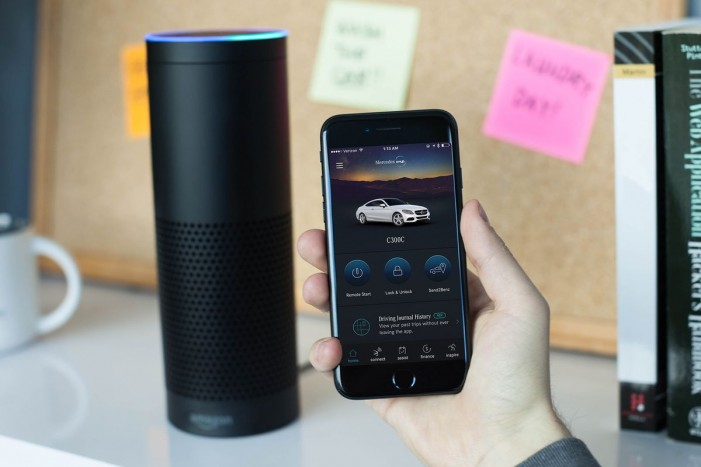 Google Home and Amazon Echo are now compatible with all 2016 and 2017 Mercedes-Benz models