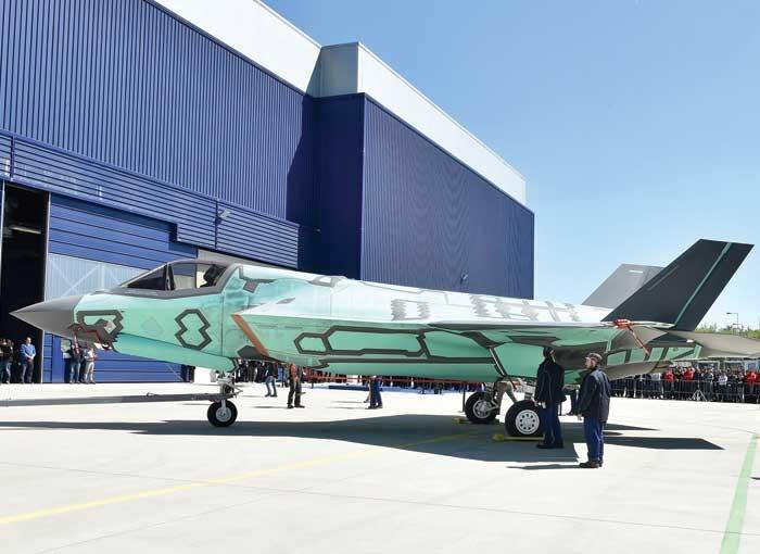 First Italian-Built F-35B