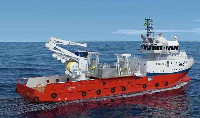 Rolls-Royce First Hybrid Subsea Crane