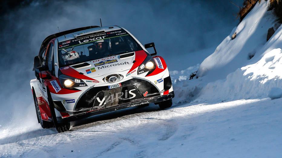 Toyota's Jari-Matti Latvala