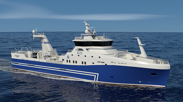 Rolls-Royce To Design And Equip New Stern Trawler For Icelandic Fishing Company Hb Grandi