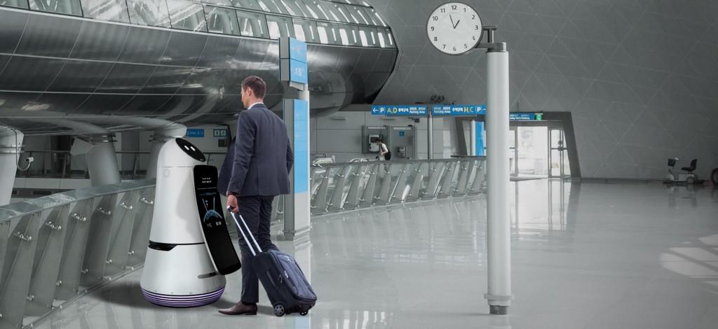 LG Airport Robots
