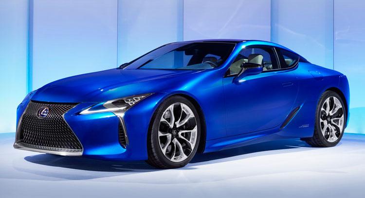 New Lexus 500