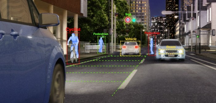 Toshiba's Visconti™4 Image Recognition Processor Powers DENSO's Front-Camera-Based Active Safety System
