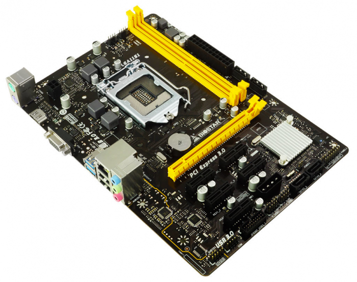 Biostar H110m-Btc Releases The First Micro-Atx Intel H110 Chipset Motherboard