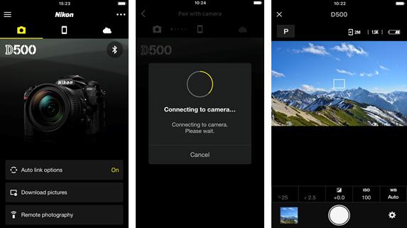 Nikon version 2.0 of SnapBridge
