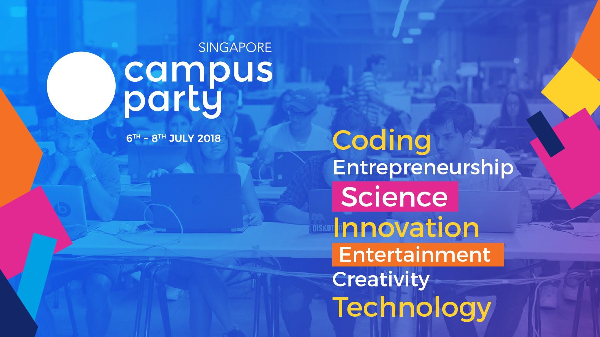 Campus Party Singapore 2018