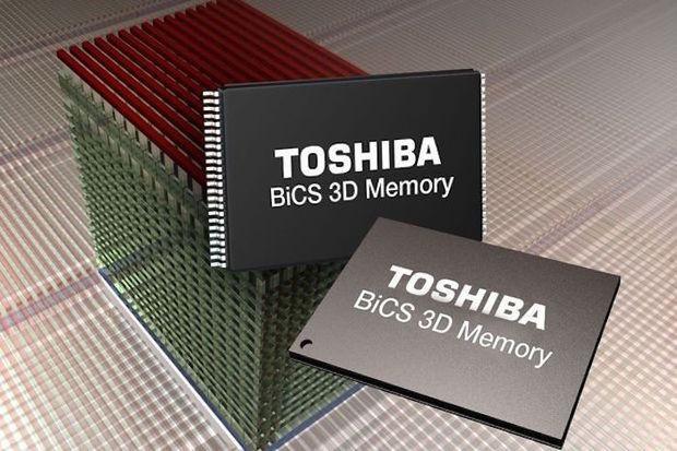 Toshiba SSD 3D Flash Memory