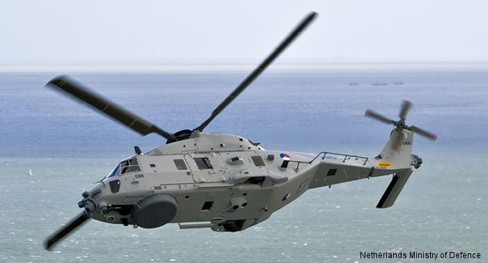 RNLAF Nh90 Helicopter With Terma Aircraft Survivability Equipment Is Ready For Operational Use