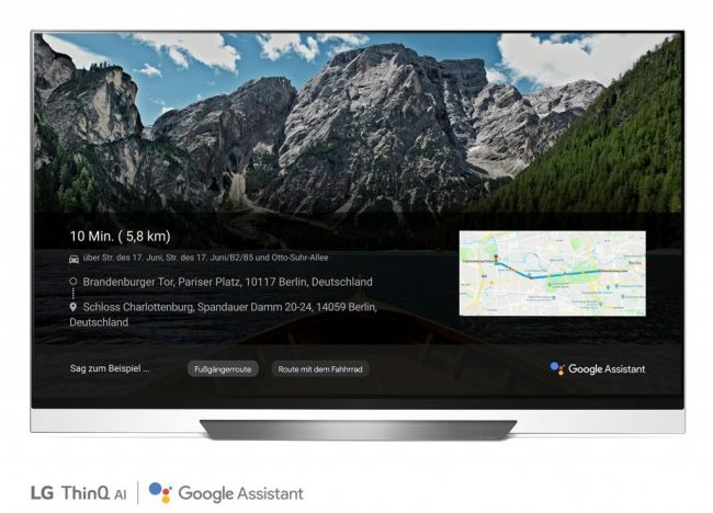LG TVS THE GOOGLE ASSISTANT