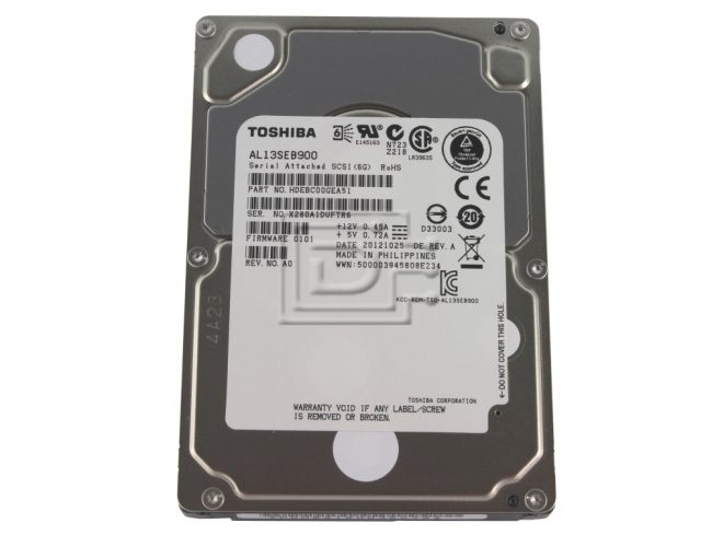 Toshiba SAS HDD Models