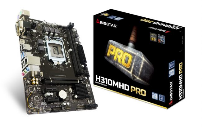 BIOSTAR Intel 300