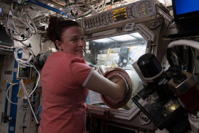 NASA astronaut Serena