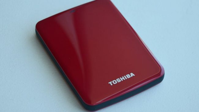 CANVIO external hard drives