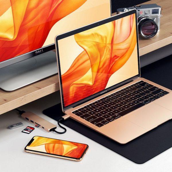 Satechi Gold MacBook Air