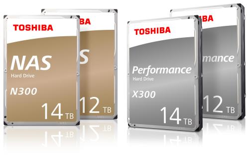 Toshiba N300 NAS and X300