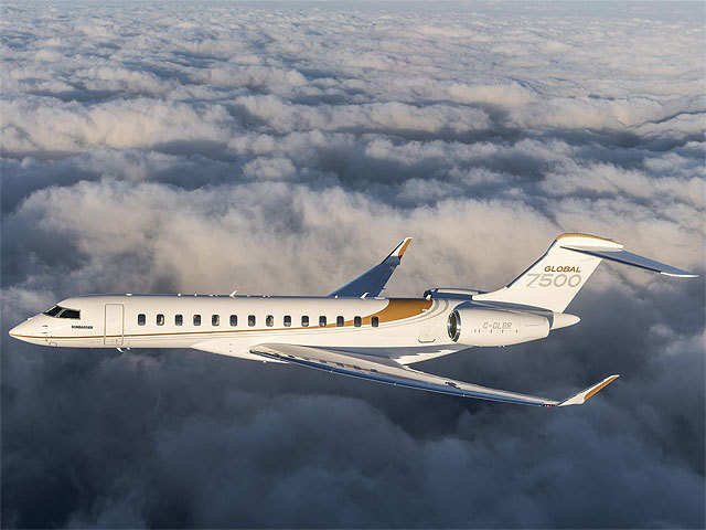 Global 7500 aircraft