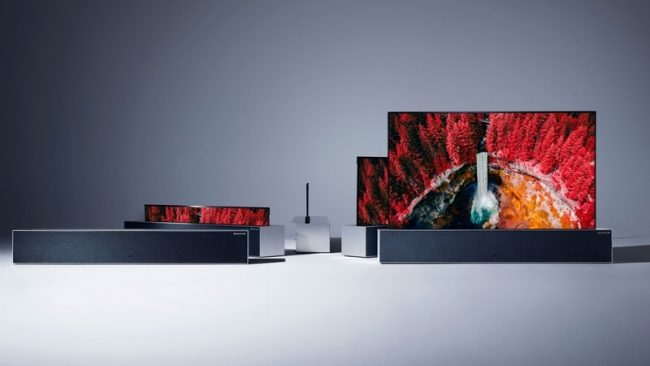 LG Rollable Oled Tv
