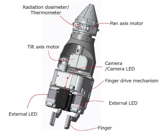 Toshiba Vessel at Fukushima Daiichi