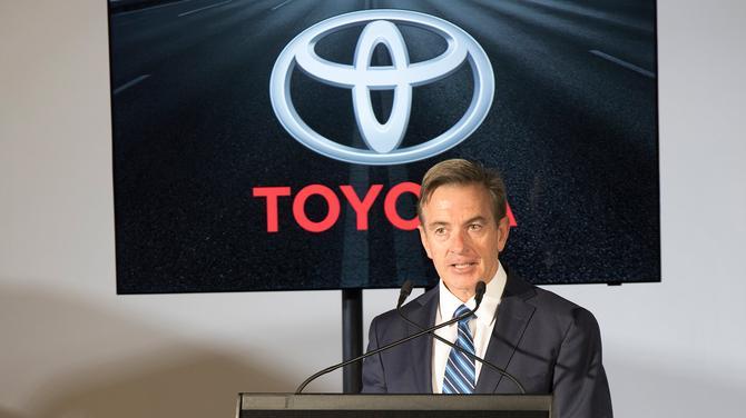 Toyota President Matthew Callachor