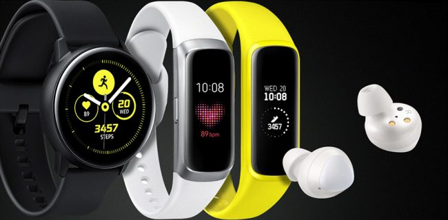 Samsung New Wearables
