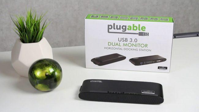 Plugable Horizontal Dual 4K