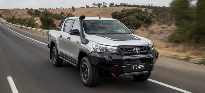 Toyota upgraded HiLux