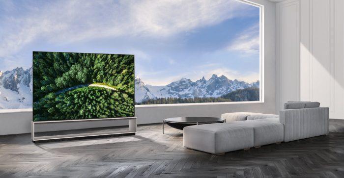LG OLED 8K TV