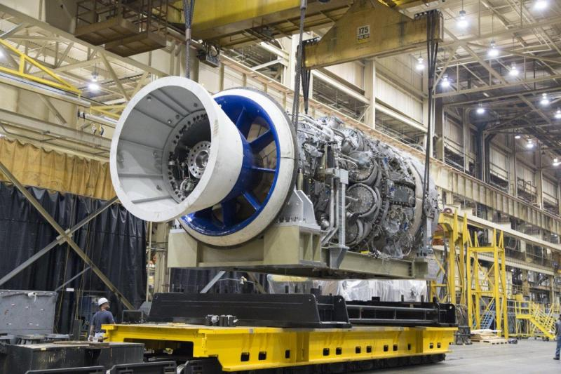 GE HA Gas Turbine
