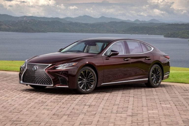 Lexus Ls Inspiration Series Ushers In Enhanced Style, Safety And Suspension