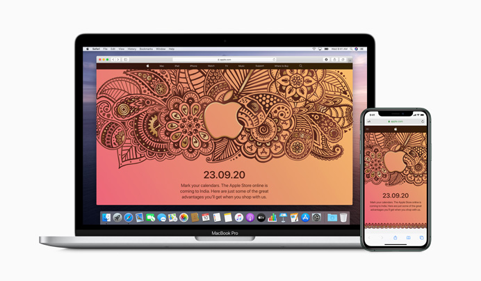 Apple Store online in India