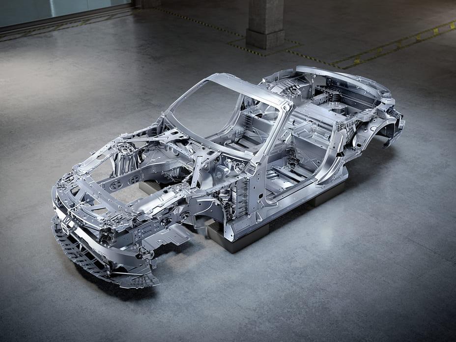 Mercedes-AMG SL bodyshell