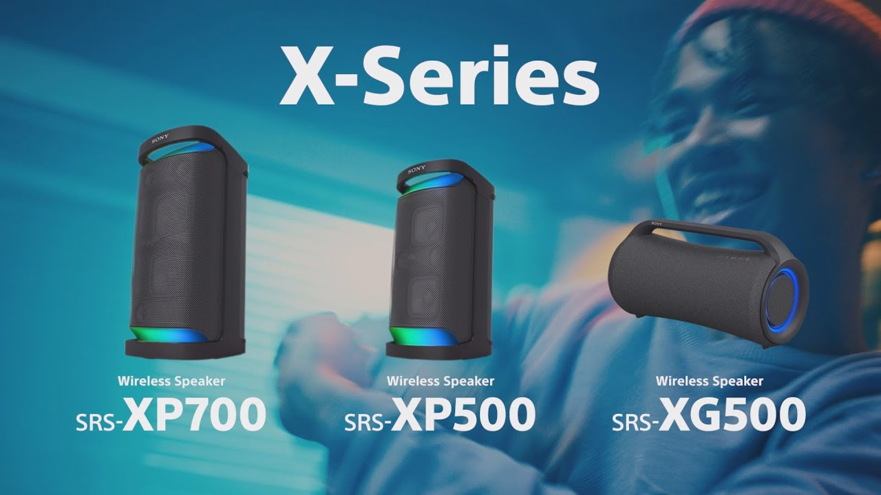 Sony X-Series speakers